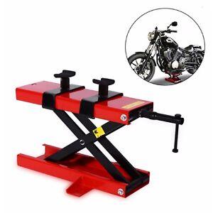 1100LB Mini Scissor Lift Hoist Stand Lift Jack ATV Motorcycle Dirt Bike Scooter 6970607944608