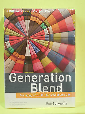 """generation Blend"", Rob Salkowitz. (cd's, Management. )"