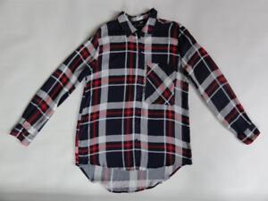 blu Camicia taglia di 815972029061 button Jordan a quadri 78 down rosso Aqua S scozzese Msrp scuro 4xgqn48R