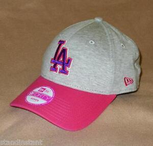 New Era 9FORTY LA Dodgers Triple Jersey Women s Adjustable Baseball ... 05ef58cf3365