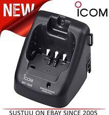 ICOM BC-162 Single Desktop Rapid Charger c/w BC145 (Lilon/Ni-Cad) - M31 / M35