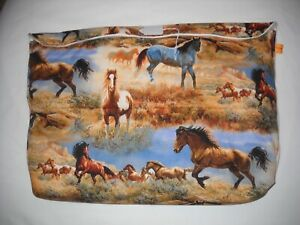 Breyer-oversize-pony-pocket-pouch-traditional-classic-custom-model-horse-fabric