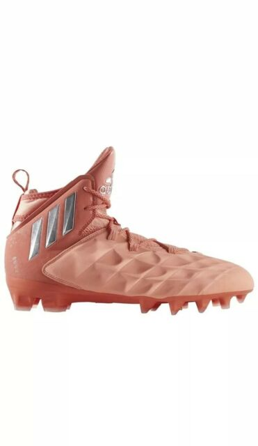 ADIDAS Freak Lax Lacrosse Football Cleats Shoes Mid Style Sunglow Coral Size 11