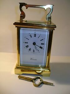L-039-EPEE-TIMEPIECE-CARRIAGE-CLOCK-IN-GOOD-WORKING-ORDER-WITH-KEY