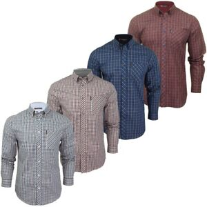 Ben-Sherman-Mens-Long-Sleeved-Gingham-Check-Shirt