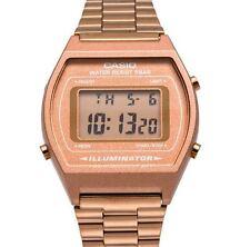 Rose Gold Retro Casio Illuminator Watch B640WC-5AEF