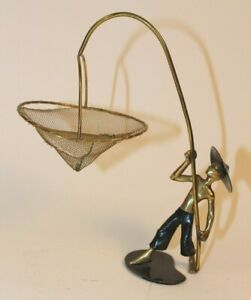 Richard Rohac Messing Figur Chinese Hagenauer Bosse 50er Art Deco Bronze Austria