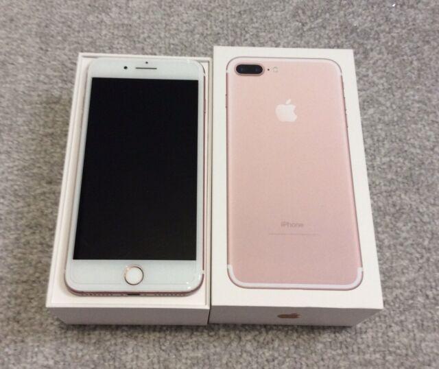 Apple iPhone 7 Plus - 128 Go Rose or bon état débloqué