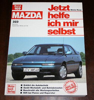 Baujahre ab 1989 Originale Reparaturanleitung Mazda 323