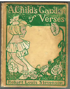 A-Child-039-s-Garden-of-Verses-by-Robert-Louis-Stevenson-1902-Art-Noveau-Rare-Book