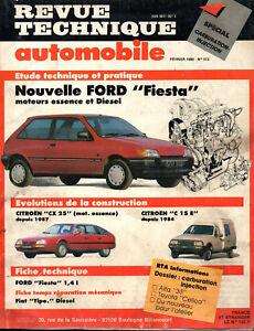 Expressif Rta Revue Technique Automobile N° 512 Ford Fiesta Essence & Diesel Utilisation Durable