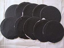 "5"" Inch 10 Sandpaper Disks 320 Grit Peel & Stick Adhesive Abrasive Sand Paper"