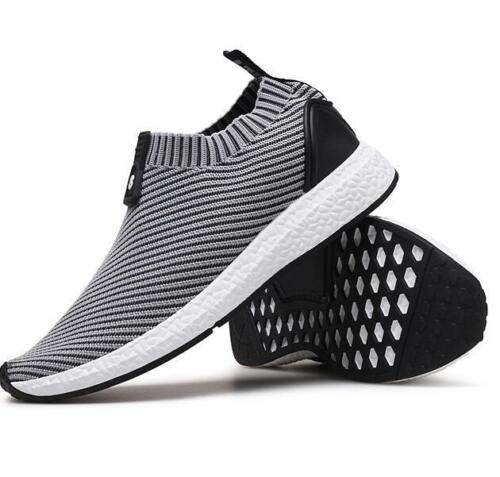 Men  Athletic Sport Shoes Casual Knit Shoes Sneakers Running Shoes Breathable sz
