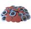 50PC-2-034-36grit-Roloc-Aluminum-Oxide-Roll-Lock-Sanding-Disc