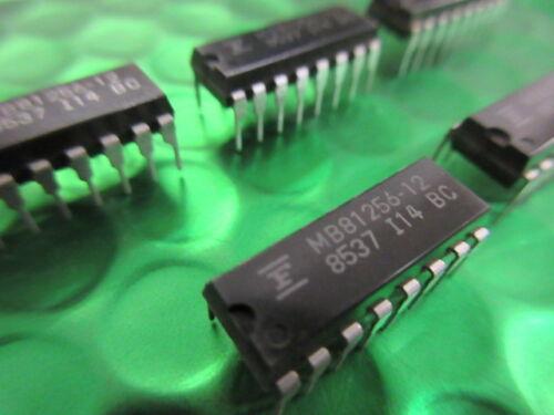 DIP16 256K MB81256-12 juegos audio FUJI IC D-RAM ** ** 3 por video 120ns