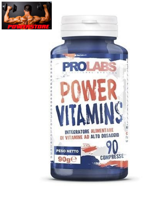 PROLABS - POWER VITAMINS 90 CPR - MULTIVITAMINICO MINERALI E VITAMINE