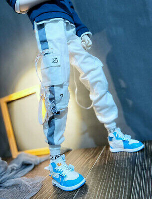 New Casual Sports Hip-Top Pants for BJD Uncle Doll Clothes CM8
