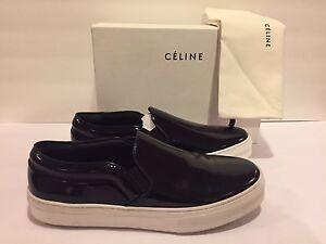 Celine Skate Sneakers Slip On Patent