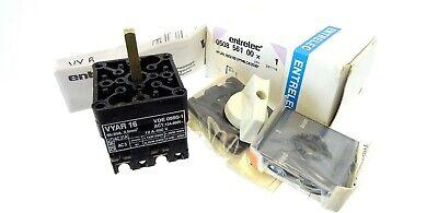 Nockenschalter FANAL PR12 1106 A4 Cam Switch Drehschalter 2-Positionen 4kW 20A