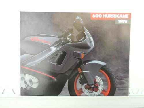 NOS 1988 Honda 600 Hurricane Dealer Brochure L1069