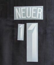 DFB Deutschland NEUER Flock für Adidas Away Kinder-Trikot WM 2014 Quali EM 2016