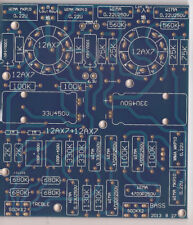 Bare PCB for 12ax7 Vacuum Tube Tone Adjustable Board Baxandall Type 2.0channel