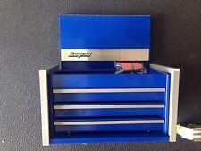 Snap On ROYAL BLUE Mini Micro Top Chest Tool Box Rare Brand New