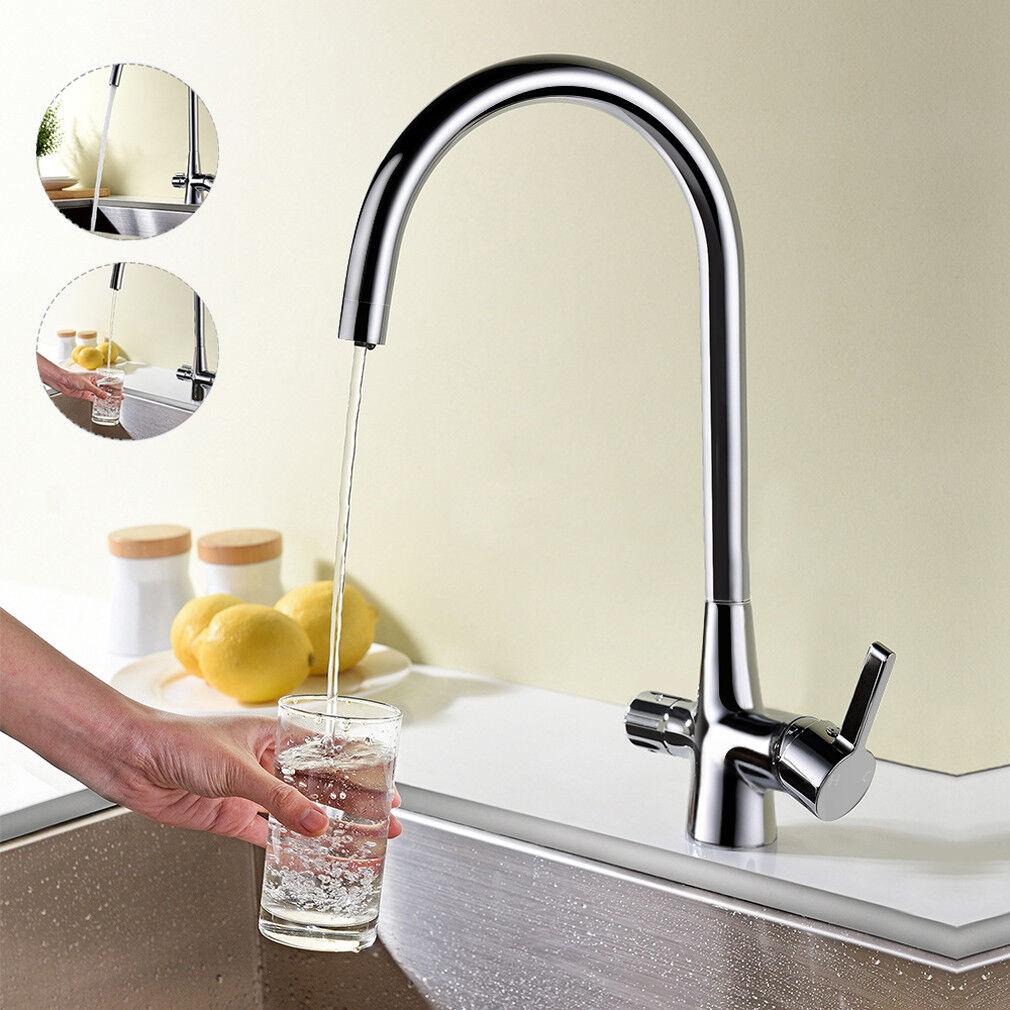 3 in 1 Küchenarmatur mit Wasserfilter Wasserhahn Mischbatterie Spültischarmatur | Niedriger Preis  | Preiszugeständnisse  | Speichern  | Hohe Qualität und günstig