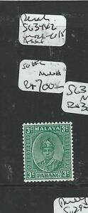 MALAYA PAHANG (P0906B) SULTAN 3C SG31A MNH