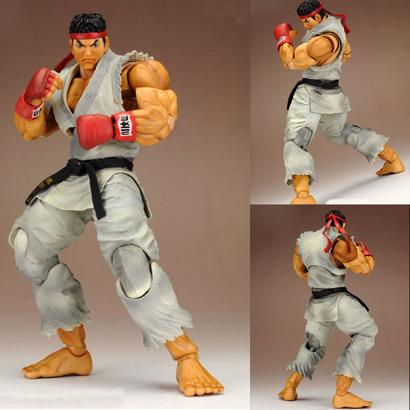 Play Arts Kai SUPER STREET FIGHTER ARCADE EDITION Ryu ACTION FIGURE STATUA