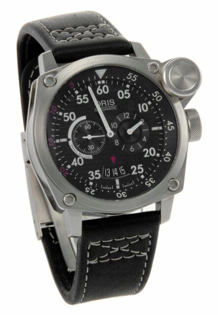 "Oris BC4 ""Der Meisterflieger"" Aviation Chronograph Men's Watch 649-7632-4164LS"
