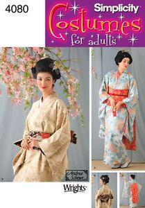 COUPE MOTIFS GEISHA//Kimono; Taille 32-38