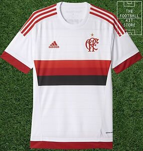 ec40bac23f6 Image is loading Flamengo-Away-Shirt-Official-adidas-Rare-Brazil-Football-