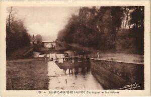 CPA Saint-Capraise-de-Lalinde - Les Ecluses (1081613)