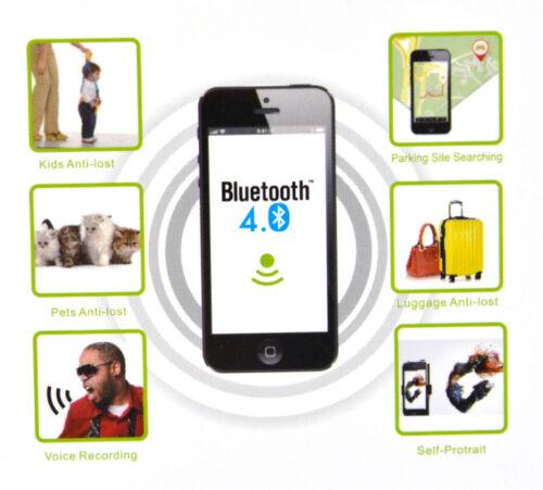Schlüsselfinder Haustiere Bluetooth 4.0 Grün iOS iPhone Android iTag