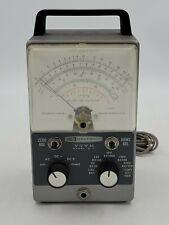 Vintage Heathkit Vtvm Im 11 Vacuum Tube Meter Powers On Works