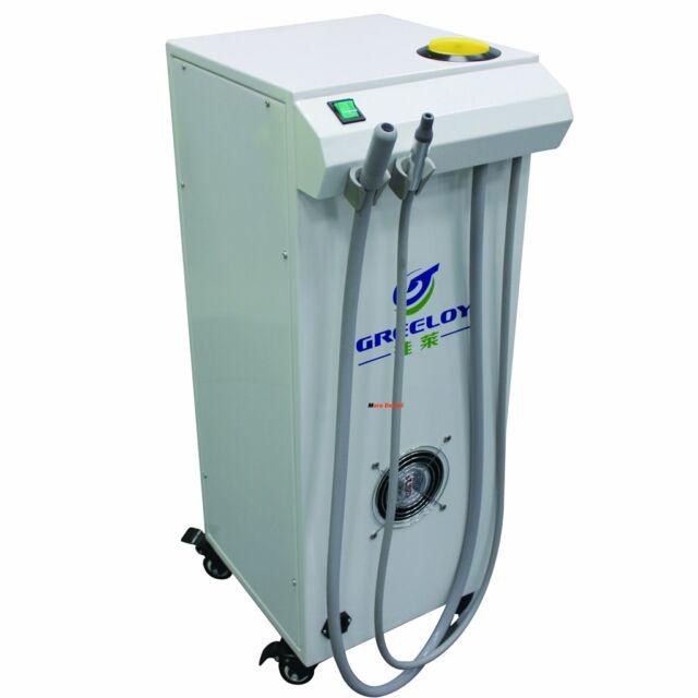 Greeloy 300W Portable Dental Vacuum Suction Unit High Vacuum Pump Unit 300L/Min