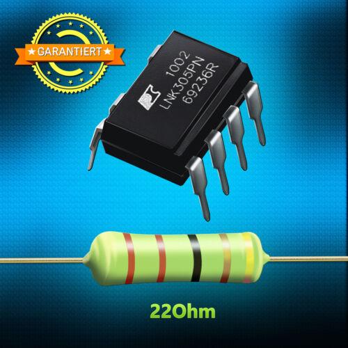 1 résistance 22 ohms 3 watts-réparation pour AEG jacuzzi Bauknecht IC lnk305pn