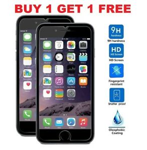 Screen-Protector-For-Apple-iPhone-7-Tempered-Glass-100-Genuine