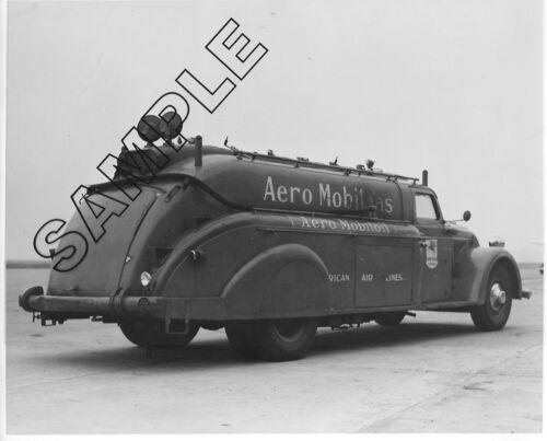 DODGE 1935-1940 /'AIRFLOW/' Mobilgas Tanker//AMERICAN AIR LINES 8x10 B/&W Photo #2