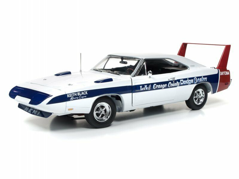 Dodge Daytona 1969 LA & orange Country 1 18 auto world AMM1091 neu & OVP