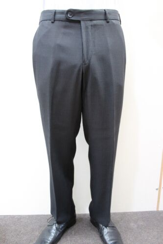 Black Croma Pinstripe Pantalon-MARIAGE//Loisirs//Baptême//Formalwear