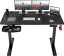 thumbnail 1 - Electric-Height-Adjustable-Sit-Stand-Desk-48-034-x-24-034-w-Optional-Monitor-Stand