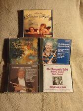 5 CD's - CLASSICAL MUSIC:  TRUMPET, TUBA & FLUTE - SOME CHRISTMAS, ETC - P612