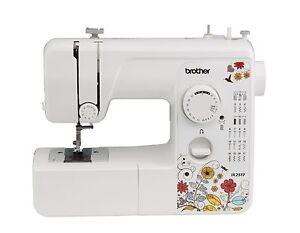 Brother 17 Stitch Sewing Machine equipment, JX2517, embroidery hem, lightweight