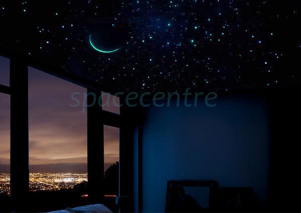 Room DIY star fiber optic light kit RGB touchpad control Free play night light