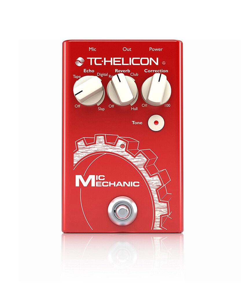 Micrófono mecánico TC-HELICON Pedal Vocal Vocal Vocal Caja de herramientas 2 996014001 Nuevo  mejor calidad mejor precio