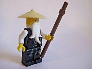 Lego-SENSEI-WU-Black-Outfit-Ninjago-Minifigure-2507-2255-2521