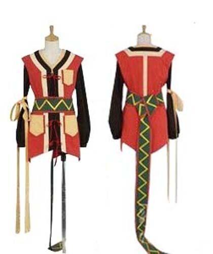 Tales of Vesperia Rita Costume Cosplay Dress NEW