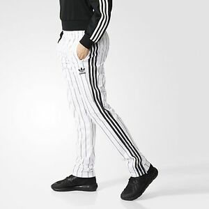 12891acf3186 Image is loading Adidas-Originals-Women-FIREBIRD-TRACK-PANTS-Black-White-